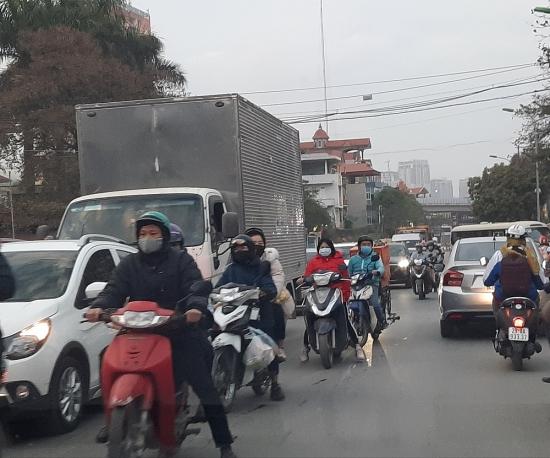 Kiểm soát phát thải phương tiện giao thông nhằm cải thiện ô nhiễm