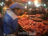Công nhân lao động với nỗi lo thực phẩm tăng giá