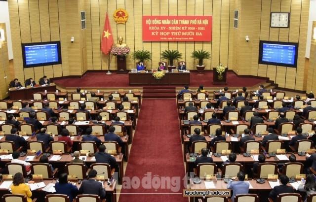Hà Nội thông qua Nghị quyết sáp nhập, đặt tên, đổi tên thôn, tổ dân phố thuộc 11 quận, huyện