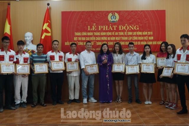 LĐLĐ quận Tây Hồ phát động Tháng Công nhân năm 2019