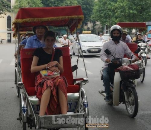 Xích lô du lịch, tô điểm nét đẹp cho Thủ đô