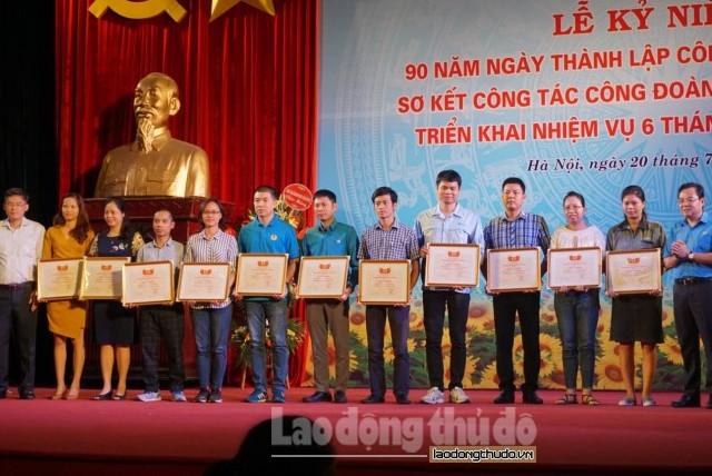 Kỷ niệm 90 năm Ngày thành lập Công đoàn Việt Nam