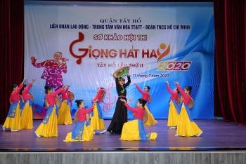 Sơ khảo Hội thi Giọng hát hay Tây Hồ lần thứ II, năm 2020