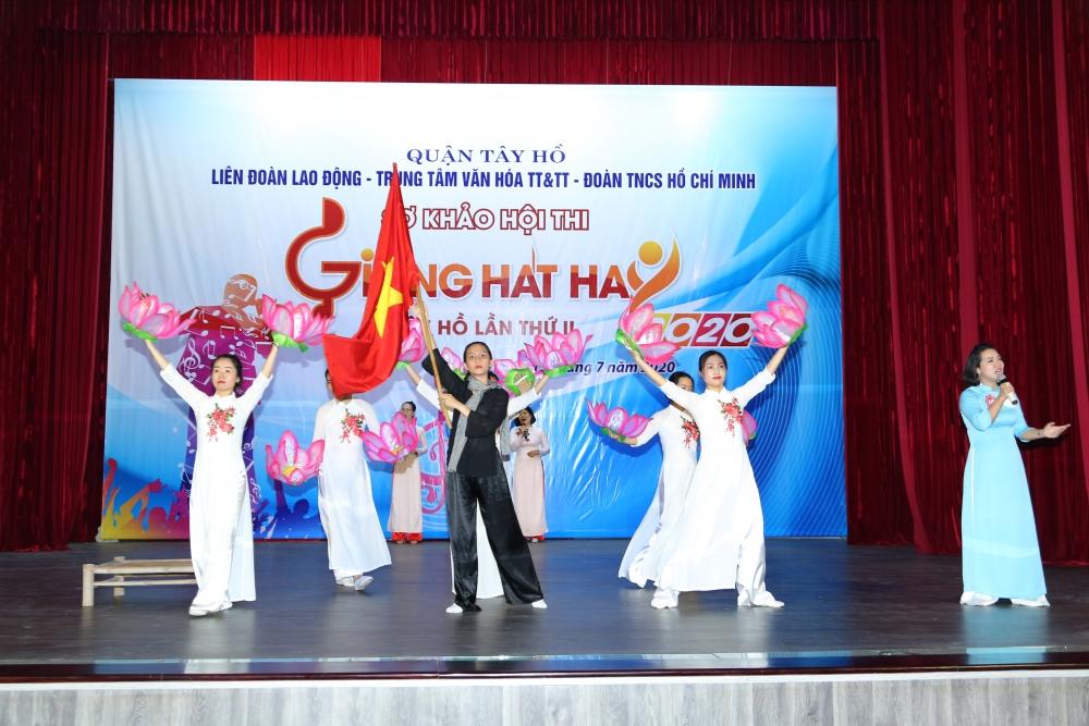 so khao hoi thi giong hat hay tay ho lan thu ii nam 2020
