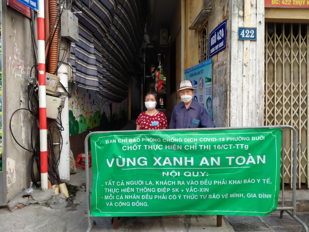"""Người dân phường Bưởi chung tay giữ gìn, bảo vệ """"vùng xanh"""""""