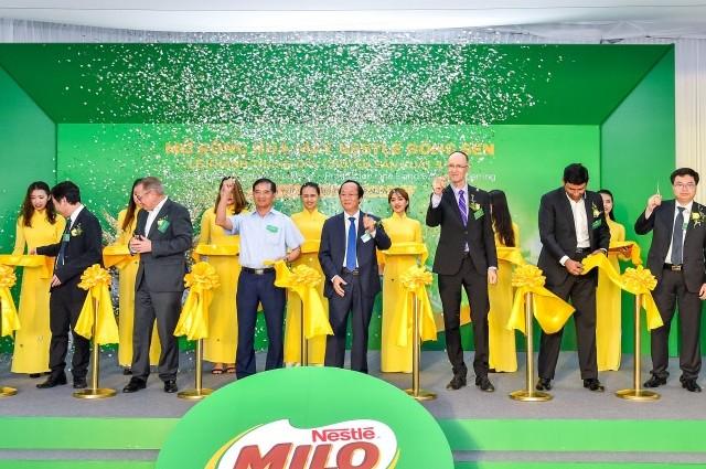 Khánh thành giai đoạn 2 dự án mở rộng Nhà máy Nestlé Bông Sen tại Hưng Yên
