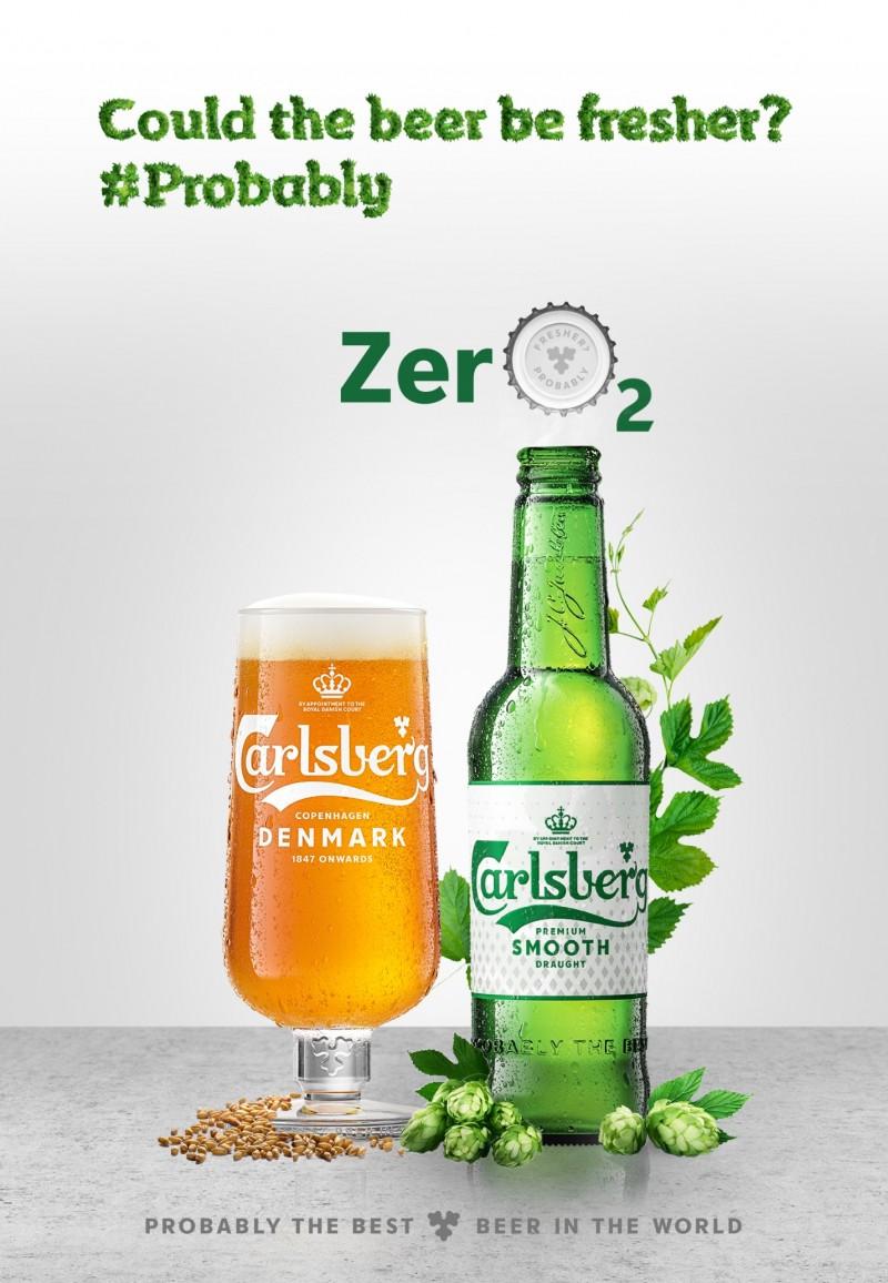 carlsberg ra mat nap chai giup luu giu huong vi bia