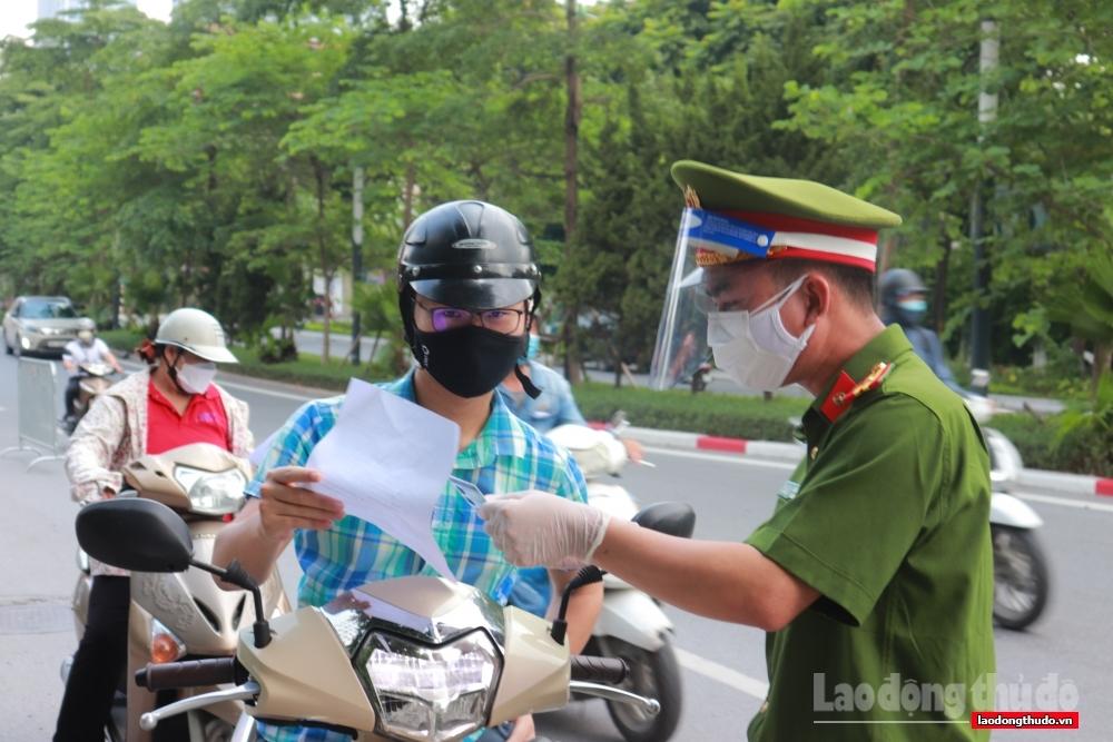 Hà Nội: Xử phạt 192 trường hợp vi phạm phòng, chống dịch trong ngày 19/9