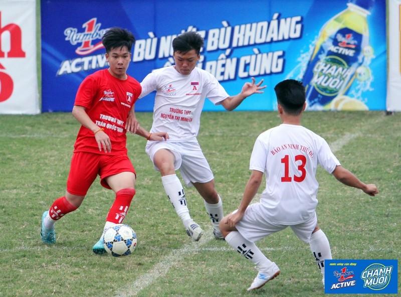 91 đội bóng tham dự Giải bóng đá học sinh THPT Hà Nội lần thứ 18
