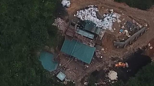 Ô nhiễm môi trường từ lò đốt nung rác thải trái phép