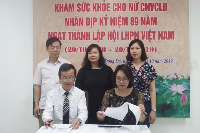 Khám sức khoẻ miễn phí cho gần 2000 nữ công nhân viên chức lao động