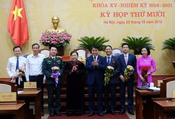 Hà Nội: Bầu bổ sung 4 Ủy viên Ủy ban nhân dân Thành phố
