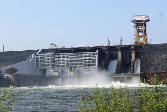 Hồ thủy điện Thác Bà xả lũ khoảng 510m3/giây