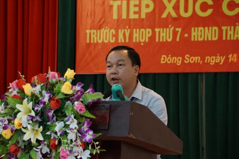 Đại biểu HĐND TP Hà Nội tiếp xúc cử tri huyện Chương Mỹ