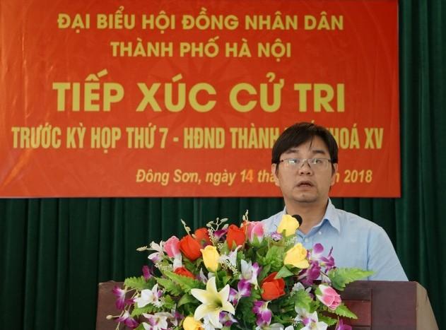 UBND TP trả lời kiến nghị của cử tri về nâng cấp, cải tạo tuyến đê Tả Bùi – Hữu Đáy