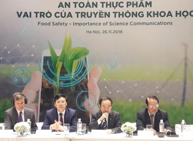 Báo chí cần truyền thông về an toàn thực phẩm một cách có trách nhiệm