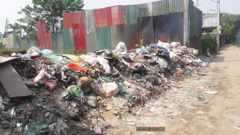 Đốt rác tự phát tiềm ẩn nguy cơ cháy nổ, ô nhiễm