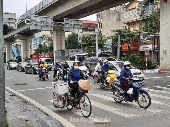 Tuần qua, chất lượng không khí tại Hà Nội có xu hướng xấu hơn