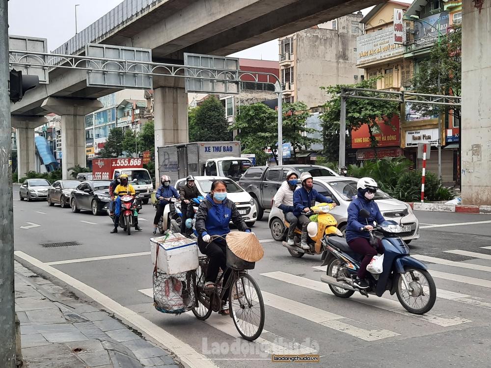 Chất lượng không khí Hà Nội được cải thiện hơn tuần trước