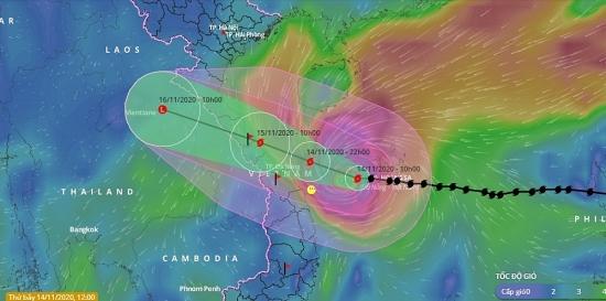 Ứng phó với bão số 13: Dự kiến sơ tán gần 468.000 người