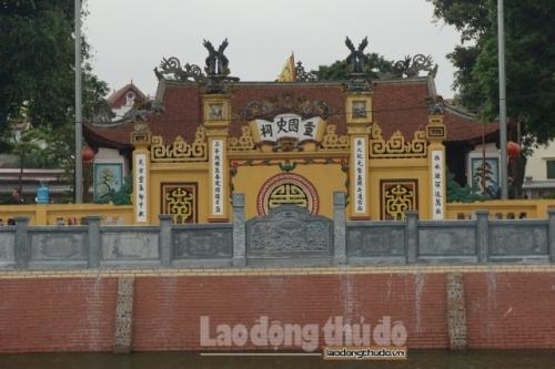 Đền Giang Xá - nơi tưởng nhớ vị vua Lý Nam Đế