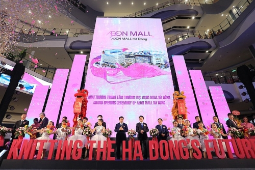 Khai trương Trung tâm thương mại lớn nhất của AEON tại Việt Nam