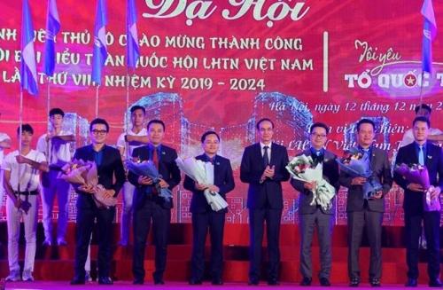 Dạ hội chào mừng thành công Đại hội Hội Liên hiệp thanh niên Việt Nam