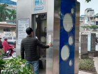 Hà Nội: Lắp đặt thử nghiệm nhà vệ sinh công cộng thông minh