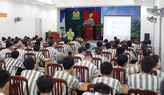Hà Nội: Hơn 30.000 lượt phạm nhân được tuyên truyền, phổ biến pháp luật