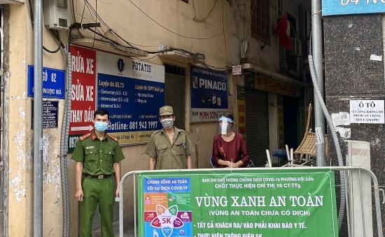 Nâng cao hiệu quả tuyên truyền, giữ vững thành quả chống dịch ở quận trung tâm Thủ đô