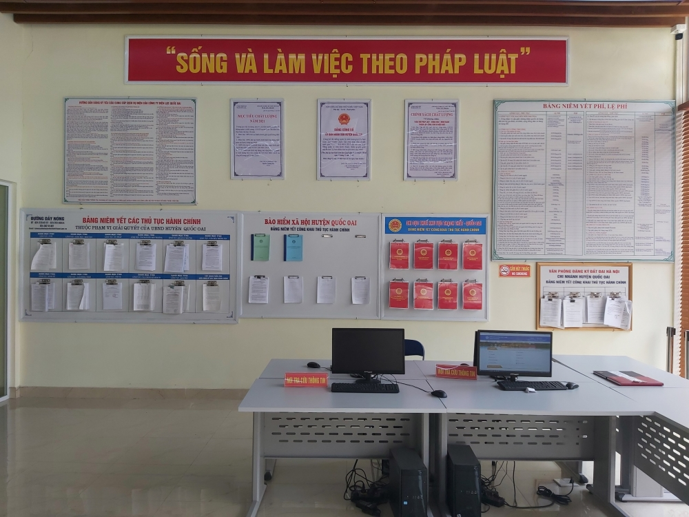 Hà Nội: Công tác cải cách thủ tục hành chính đạt nhiều kết quả tốt