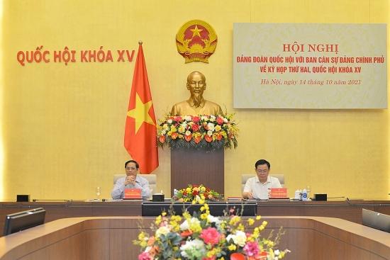 Chính phủ đề xuất Quốc hội tổ chức thêm một Kỳ họp chuyên đề ngắn vào tháng 12/2021