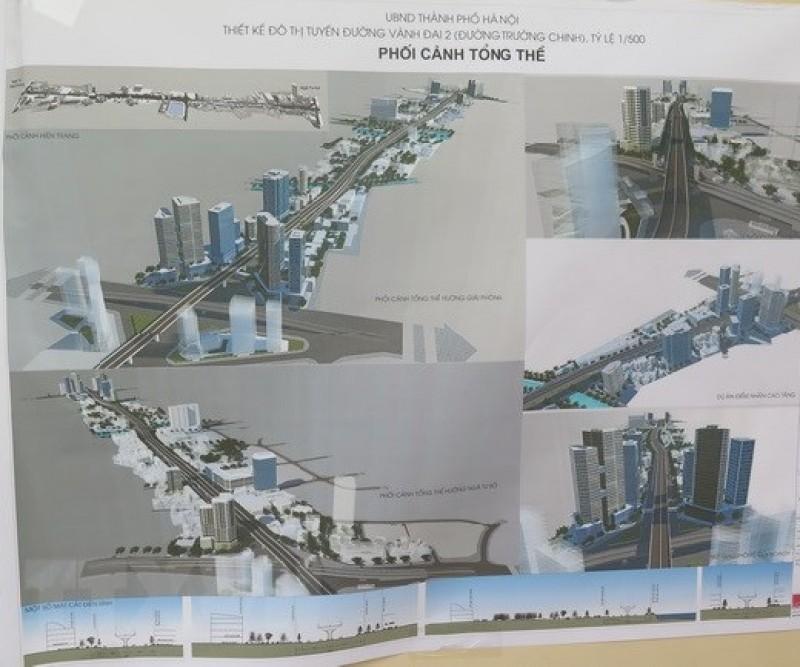 Công bố Đồ án Thiết kế đô thị tuyến đường vành đai 2