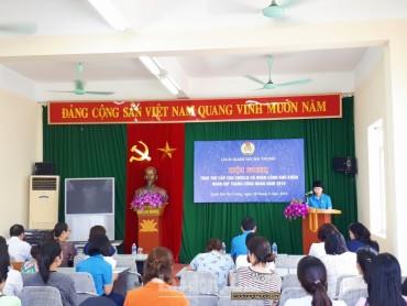 LĐLĐ Hai Bà Trưng trao trợ cấp cho 81 CNVCLĐ có hoàn cảnh khó khăn