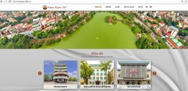 Ra mắt trang Hoàn Kiếm 360 độ - kênh quảng bá du lịch Thủ đô