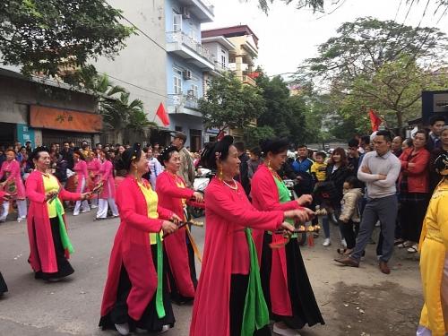 Nét đẹp văn hóa của lễ hội truyền thống làng Lạc Thị