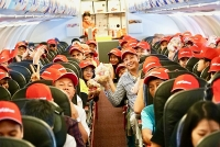 Vietjet trao gửi yêu thương tới phái đẹp với 2 triệu vé khuyến mãi cực hấp dẫn