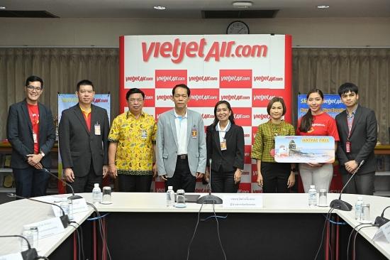 Vietjet Thái Lan tiếp tục mở đường bay mới kết nối các thành phố lớn tại Thái Lan