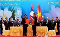 Việt Nam - Lào ký kết Thỏa thuận về Kế hoạch hợp tác giáo dục năm 2019