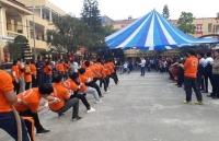Sôi nổi Ngày hội Văn hóa - Thể thao cụm trường THPT Thạch Thất - Quốc Oai