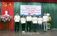 Hội nghị Khoa học Công nghệ tuổi trẻ lần thứ XX Đại học Dược Hà Nội