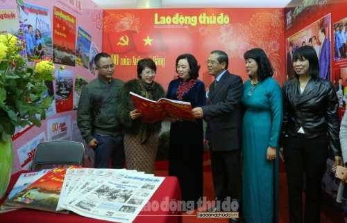 Lời cảm ơn của Hội Nhà báo thành phố Hà Nội