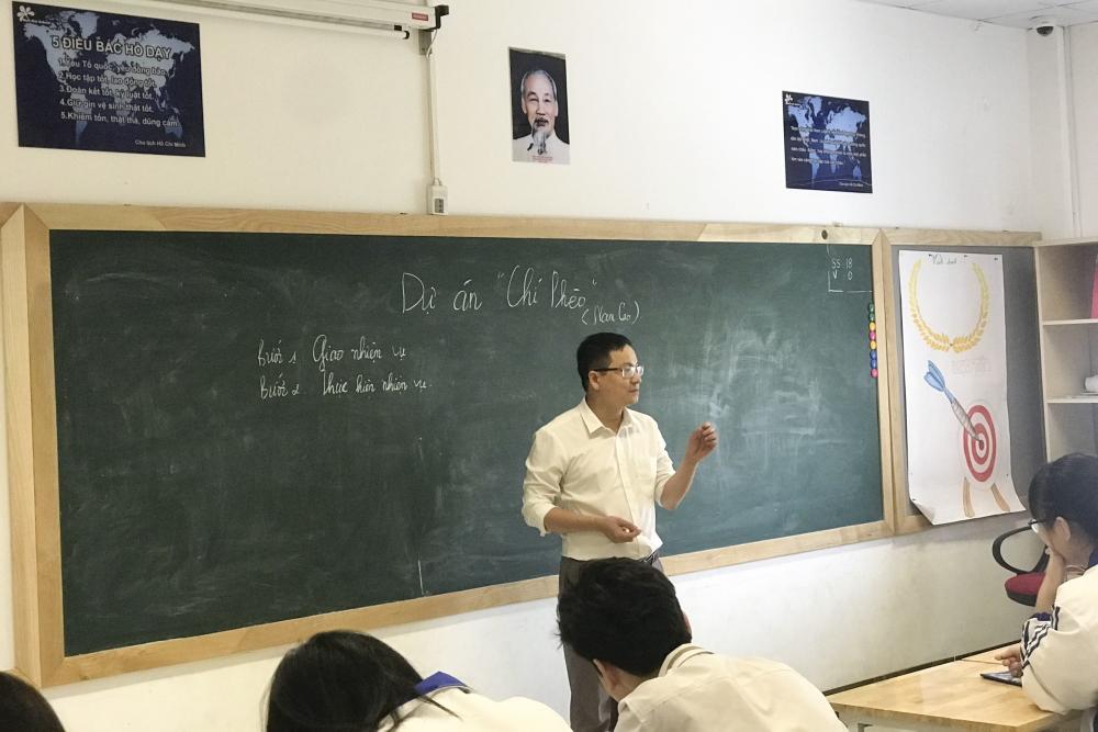 Đổi mới, nâng cao chất lượng giáo dục và đào tạo