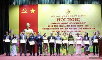 Phát động phong trào thi đua trong công nhân viên chức lao động quận Ba Đình năm 2021