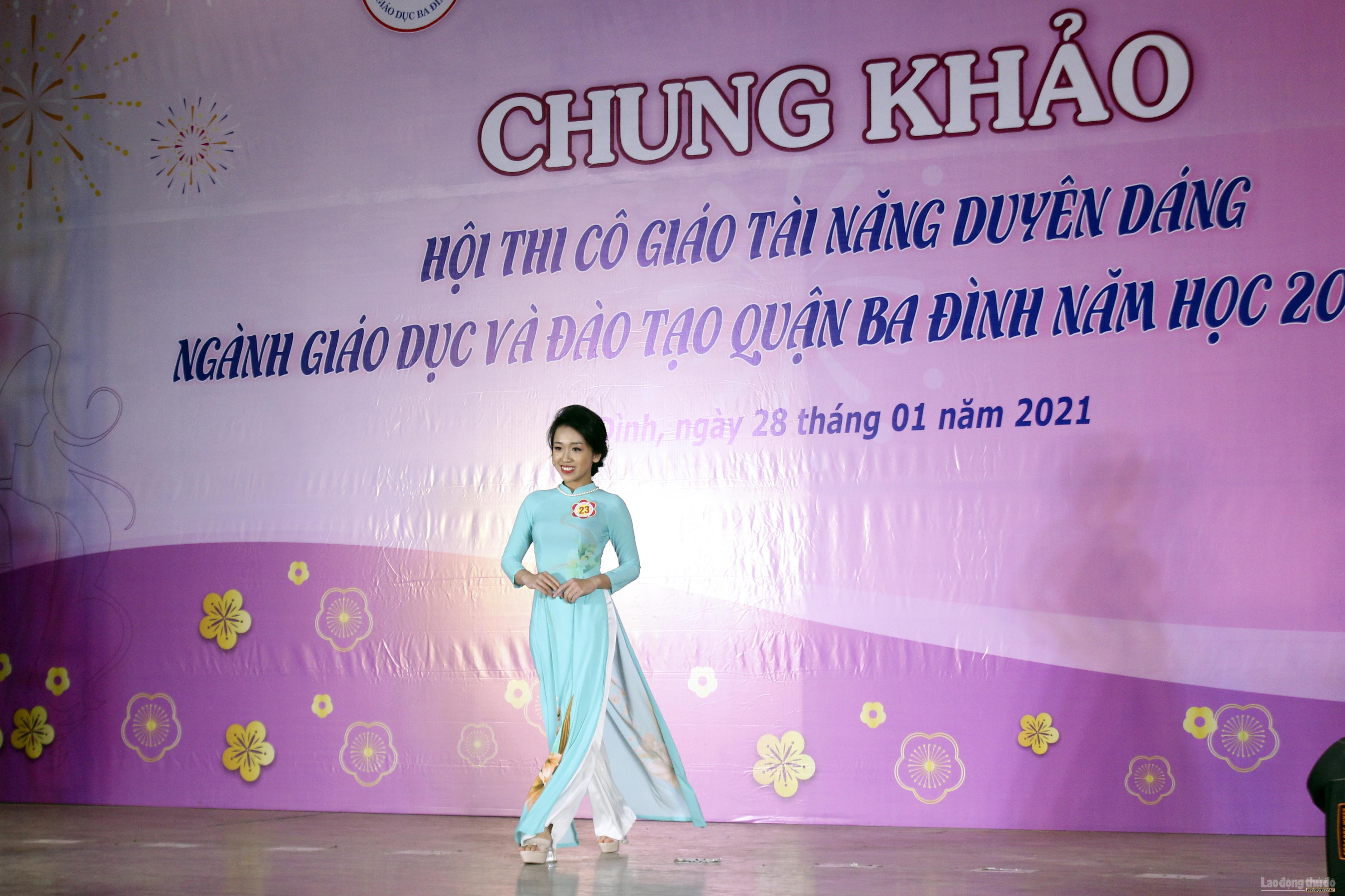 Tỏa sáng vẻ đẹp, tài năng, nét duyên dáng của nữ nhà giáo quận Ba Đình