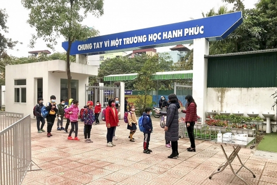 Trường học Hà Nội chủ động triển khai các biện pháp phòng, chống dịch Covid-19