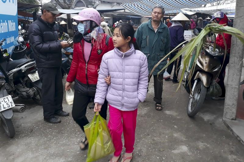Chợ quê những ngày giáp Tết