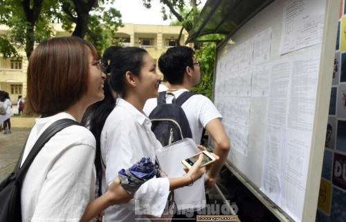 Các trường công lập dự kiến tuyển hơn 66.000 học sinh
