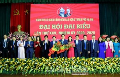 Trực tuyến hình ảnh: Đại hội đại biểu Đảng bộ cơ quan Liên đoàn Lao động thành phố Hà Nội lần thứ XXV