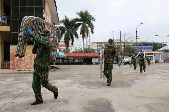 Nâng công suất Bệnh viện Dã chiến số 2 Hải Dương lên 600 giường